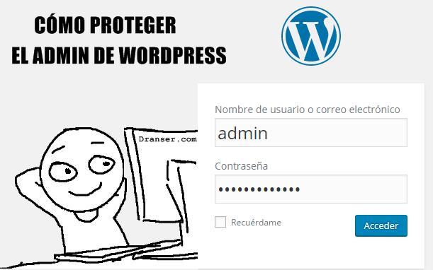 Proteger admin de WordPress